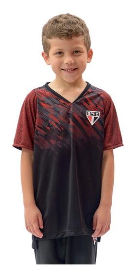 Camisa São Paulo Infantil Catch