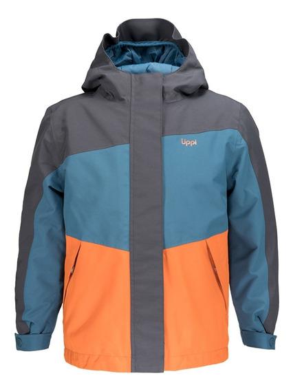 Chaqueta Niño Lippi Andes Snow B-dry Jacket Azul I19
