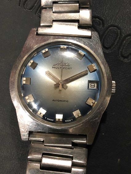 Reloj Vintage Mido Multifort Acero