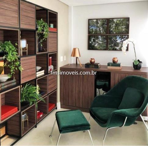 Studio Para Para Alugar Com 1 Quarto 1 Sala 45 M2 No Bairro Campo Belo, São Paulo - Sp - Ap1936ss
