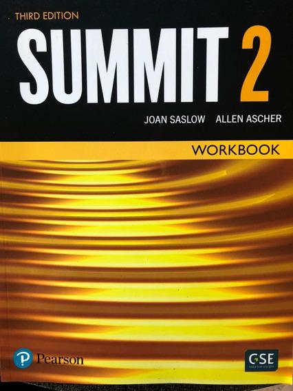 Livro Inglês Summit 2 Workbook - Third Edition