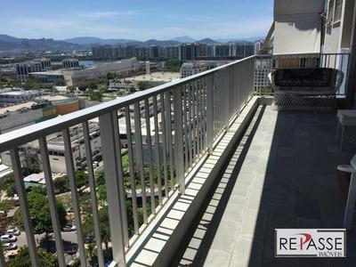 Apartamento Com 2 Dormitórios À Venda, 93 M² Por R$ 890.000 - Barra Da Tijuca - Rio De Janeiro/rj - Ap0979