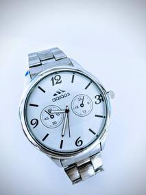 Relógio Masculino Prata Pulseira De Aço