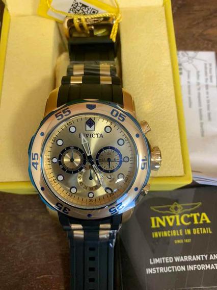 Relógio Invicta Pro Driver 17887 Cronógrafo Masculico
