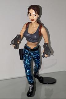 Lara Croft Tomb Raider Playmates Eidos ( Rosario )