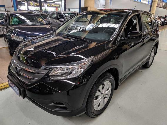 Honda Cr-v 2.0 Flex Lx Preta 2013 Automática (novissíma)