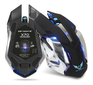 Mouse Gamer Inalambrico. 2500dpi