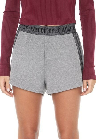 Shorts Moletom Colcci Fitness - Original