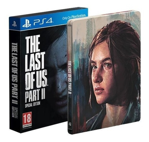 The Last Of Us Part 2 Edição Especial - Ps4 - Mídia Física