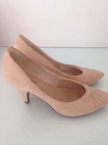 Sapato/scarpin Seminovo Nude