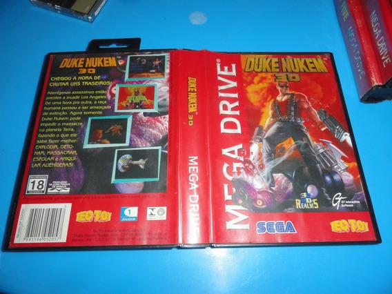 Duke Nukem Original Sega Mega Drive C/ Caixa