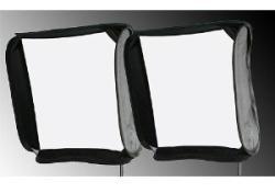 2 Softbox Caja De Luz Para Flash Kit Tripies Brackets Hm4