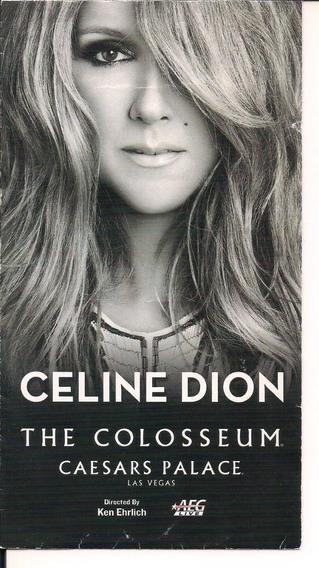 Ingresso Do Show Da Celine Dion Em 04-01-2014 Las Vegas