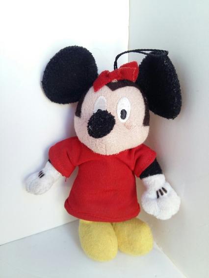 Chaveiro Minnie De Pelúcia Disney