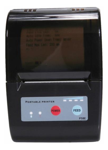 Mini Impressora Portátil Rp-58a Printer 58mm Plus Com Garantia De 6 Meses Para Pedidos E Apostas Em 12x S/ Juros