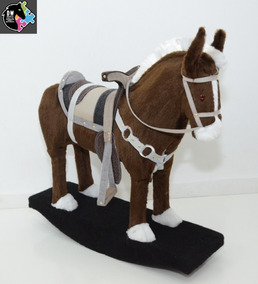 Cavalo Balanço Luxo Cela Top Melhor Preço E Qualidade Do Ml