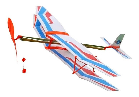 Aviao Modelismo Brinquedo Educativo Crianças Replica Voa