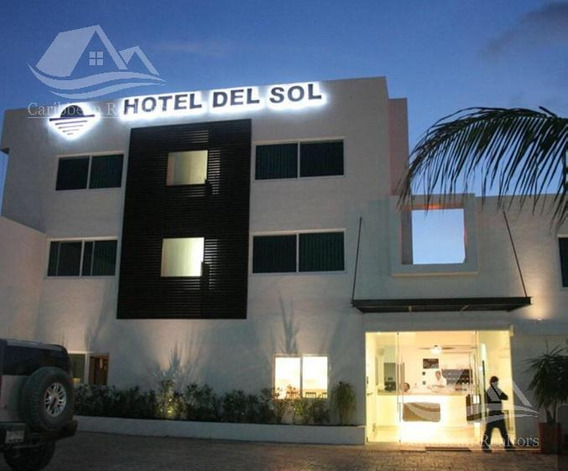 Hotel En Venta En Cancun/puerto Juarez