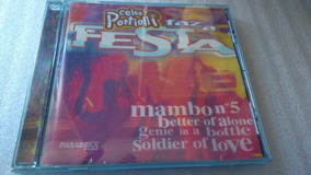 Cd Música Original, Celso Portiolli Faz A Festa.