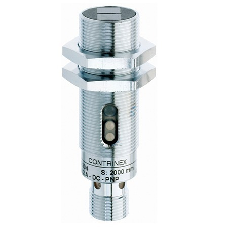 Sensor Fotoeletrico Retro-reflexivo M18 Npn N.f Lrs-1180-302