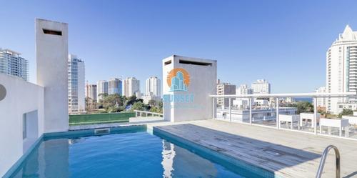 Punta Del Este Aidy Grill Apartamento De 2 Dorm. Balcon Con Parrillero Propio - Ref: 253