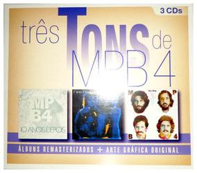 Cd Mpb4 - Três Tons De Mpb4 - Box Com 3 Cds - Promoção