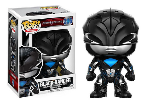 Funko Pop #396 Movies Power Rangers Black Ranger