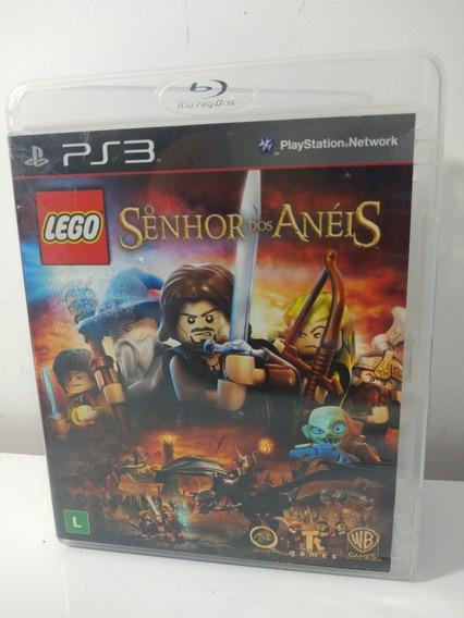 Jogo Lego Senhor Dos Anéis Ps3 Mídia Física Playstation 3