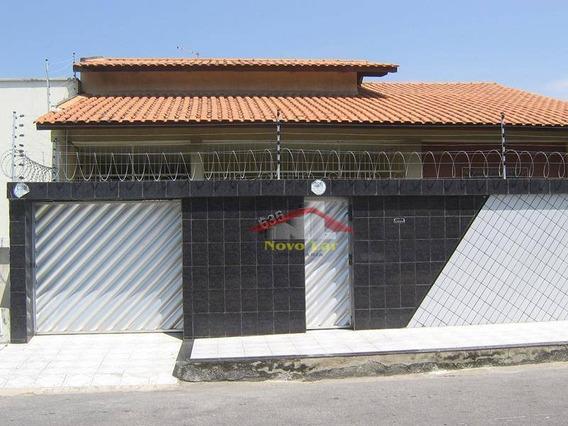 Casa Residencial Ou Comercial À Venda, Montese, Fortaleza. - Ca0135