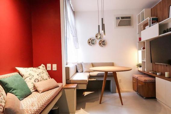 Studio No 2º Andar Mobiliado Com 1 Dormitório - Id: 892962554 - 262554