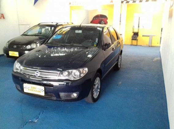 Fiat Siena 1.8 Hlx Flex 2007 Melhor Custo Beneficio