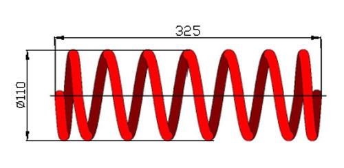 Espiral Trasero Hyudai Accent 1995 Gls Cada Uno