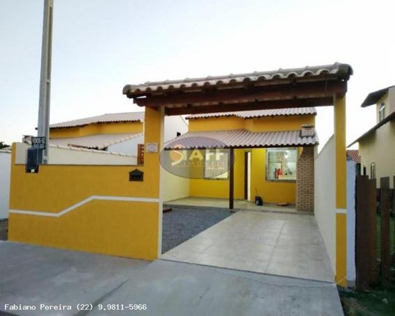 Casas 2 Quartos Para Venda Em Cabo Frio / Rj No Bairro Unamar - Ca1293 - 67806225