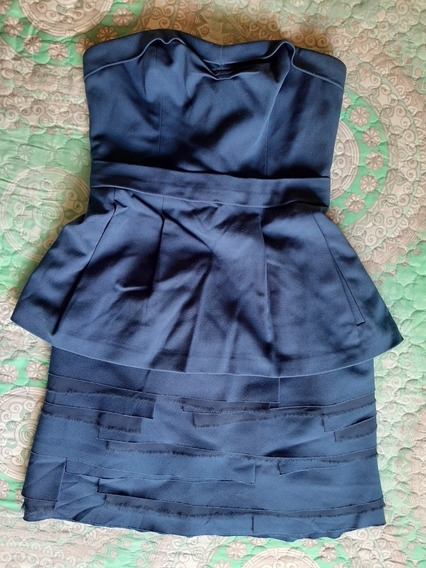 Vestido Azul Bcbg Max Azria Talla 4