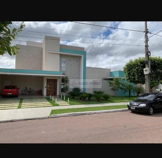 Casa Com 4 Dormitórios À Venda, 533 M² Por R$ 3.200.000,00 - Condomínio Residencial Florais Dos Lagos - Cuiabá/mt - Ca1088