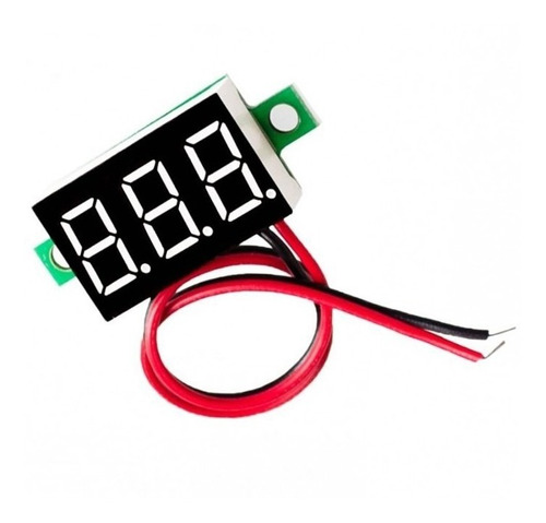 Mini Voltimetro Digital Dc 3,7v~30v  Display