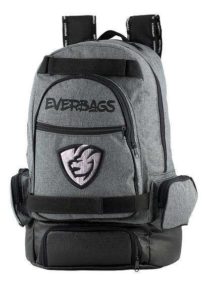 Mochila Térmica Fitness Marmita Preta Everbags Notebook