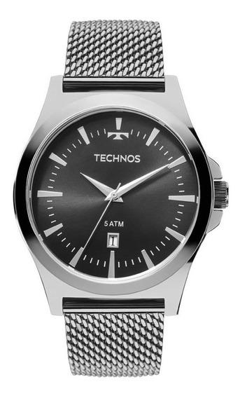 Relógio Technos Masculino Ref: 2115lal/0p Pulseira Esteira