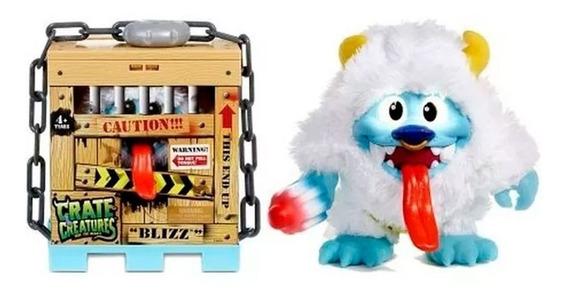 Crate Creatures Monstruito Interactivo Blizz 54912 E. Full