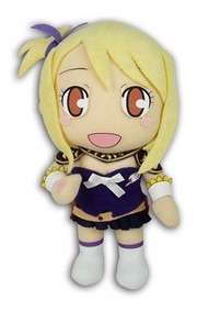 Fairy Tail Pelúcia Lucy *licenciada Fabricado Ge Anima 20cm