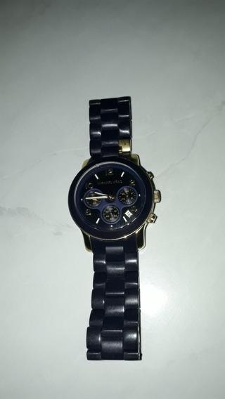 Relógio Luxo Michael Kors Mk5191 Orig Chron Anal Silicon!