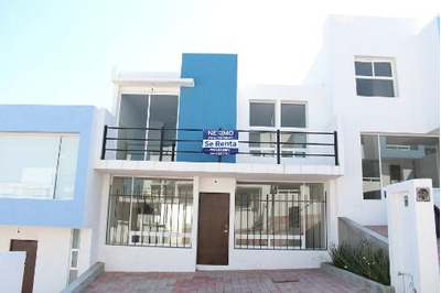 Renta De Casa Nueva En Vista Azul, Cerca De Tecmilenio