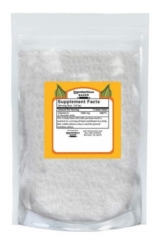 Vitamina C 150 Gramos  100% De Pureza Crystals Baker Usa