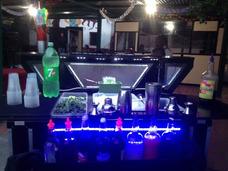 Barra Coctelera Movil Led - Divertyshow