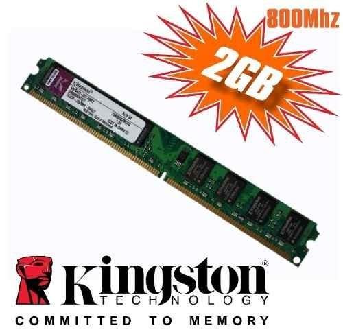 Memória Kingston Ddr2 2gb 800mhz (6 Meses De Garantia)