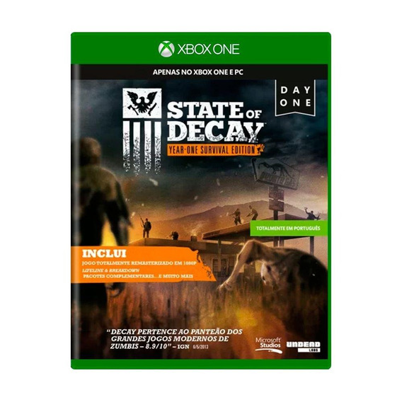 State Of Decay Yearone Survival Edition Xbox One Física