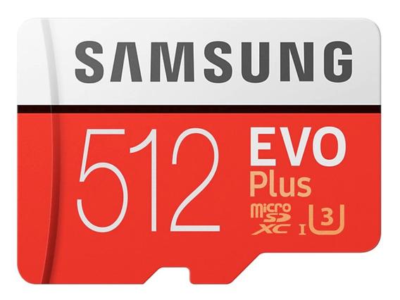 Samsung Micro Sdxc Evo Plus Classe10 U3 100mb/s 667x 512gb