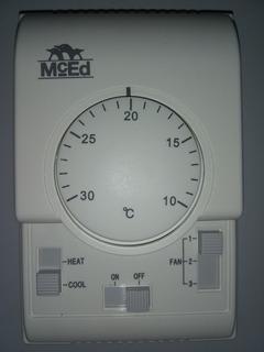 Termostato Ambiente 3 Velocidades 220 Volt Mced Nuevo !!!