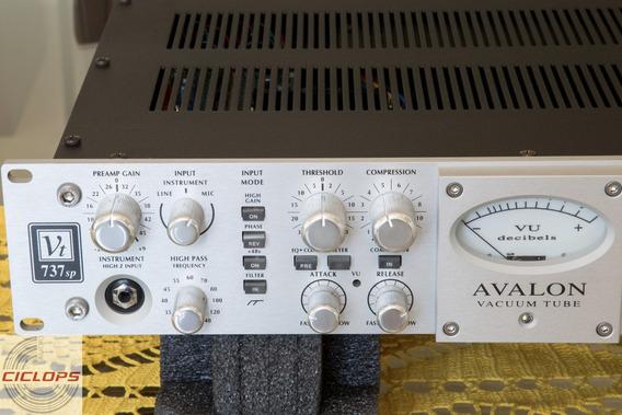 Avalon 737 Sp Preamp Api Dbx Valvulado 747 Manley
