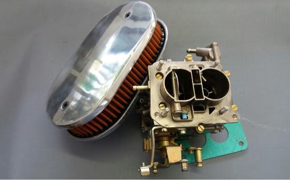 Kit Filtro Com Carburador Para Chevette Weber 1.6 Álcool